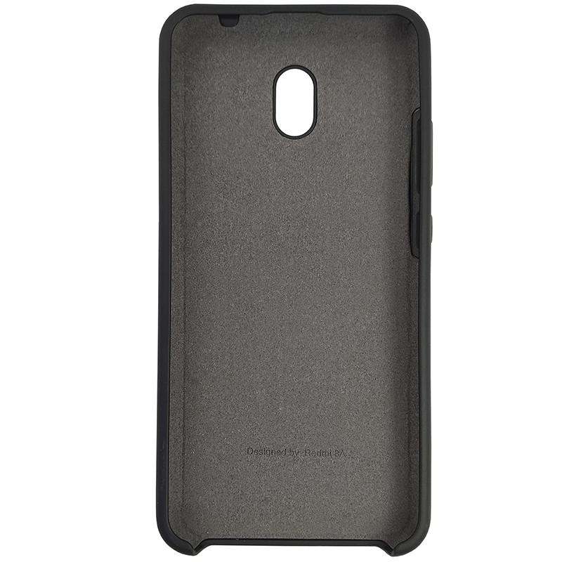 Чохол Silicone Case for Xiaomi Redmi 8A Black (18) - 3