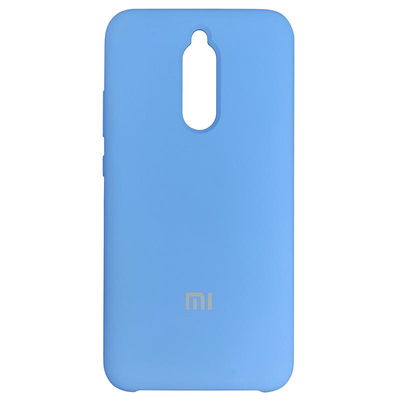 Чехол Silicone Case for Xiaomi Redmi 8 Blue (3) - 1