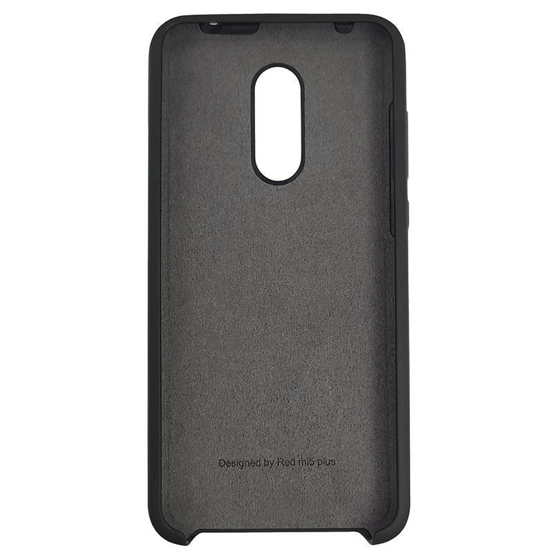 Чохол Silicone Case for Xiaomi Redmi 5 Plus Black (18) - 3