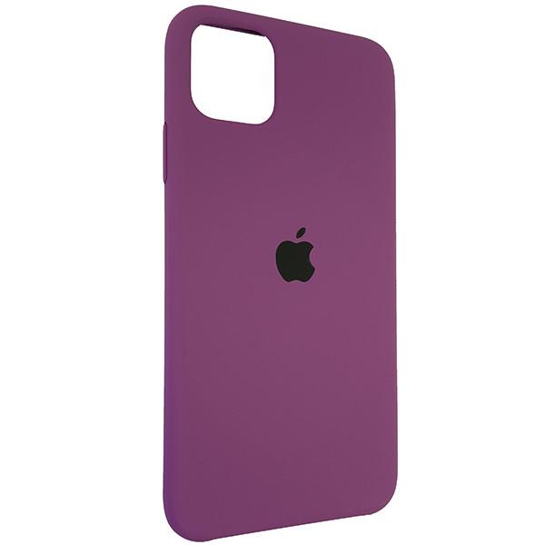 Чохол Copy Silicone Case iPhone 11 Pro Max Purpule (45) - 1