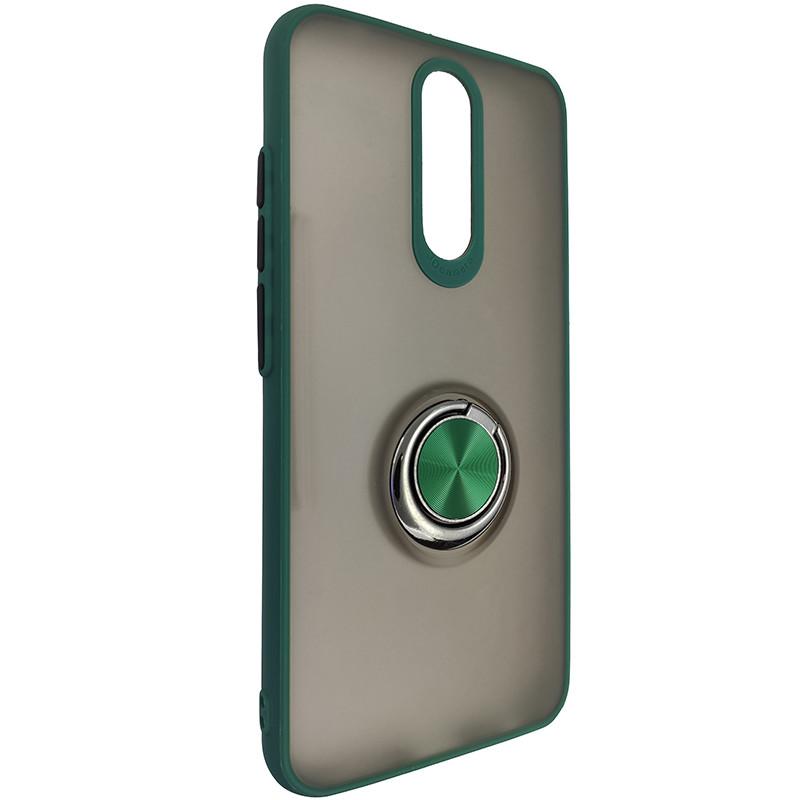 Чохол Totu Copy Ring Case Xiaomi Redmi 8/8A Green+Black - 1