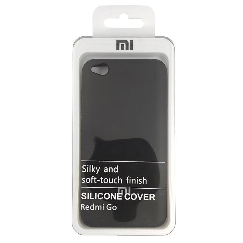 Чохол Silicone Case for Xiaomi Redmi Go Black (18) - 4