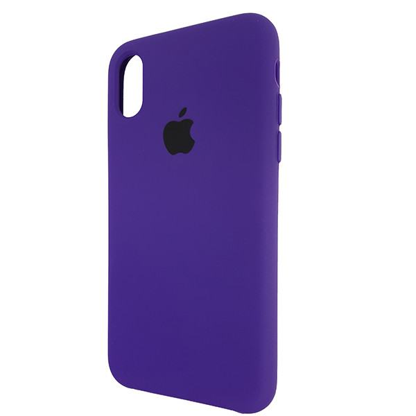 Чохол Copy Silicone Case iPhone X/XS Violet (30) - 2