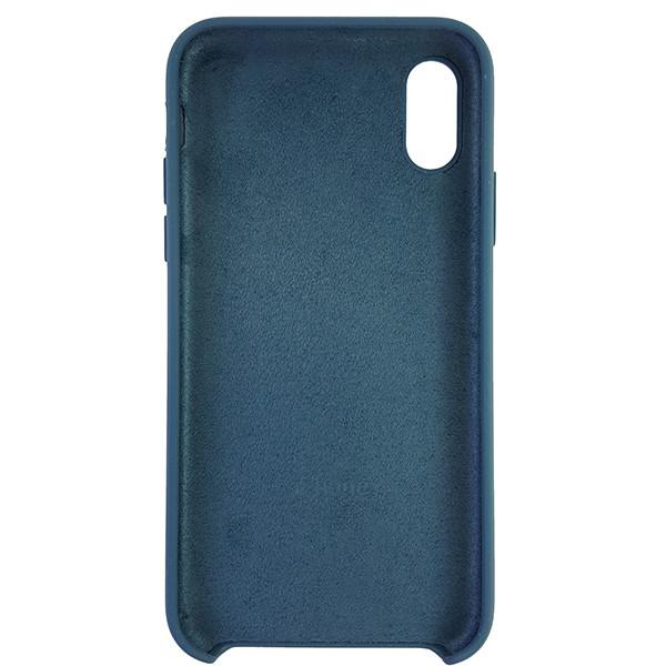 Чохол Copy Silicone Case iPhone X/XS Cosmos Blue (35) - 4
