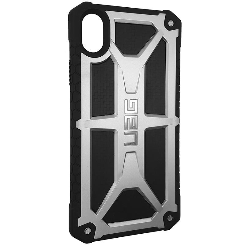 Чохол UAG Monarch iPhone XR Silver (HC) - 2