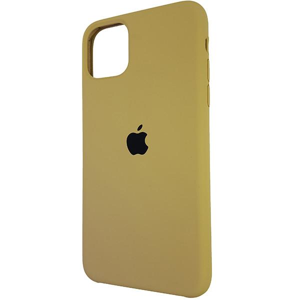 Чехол Copy Silicone Case iPhone 11 Pro Max Gold (28) - 2
