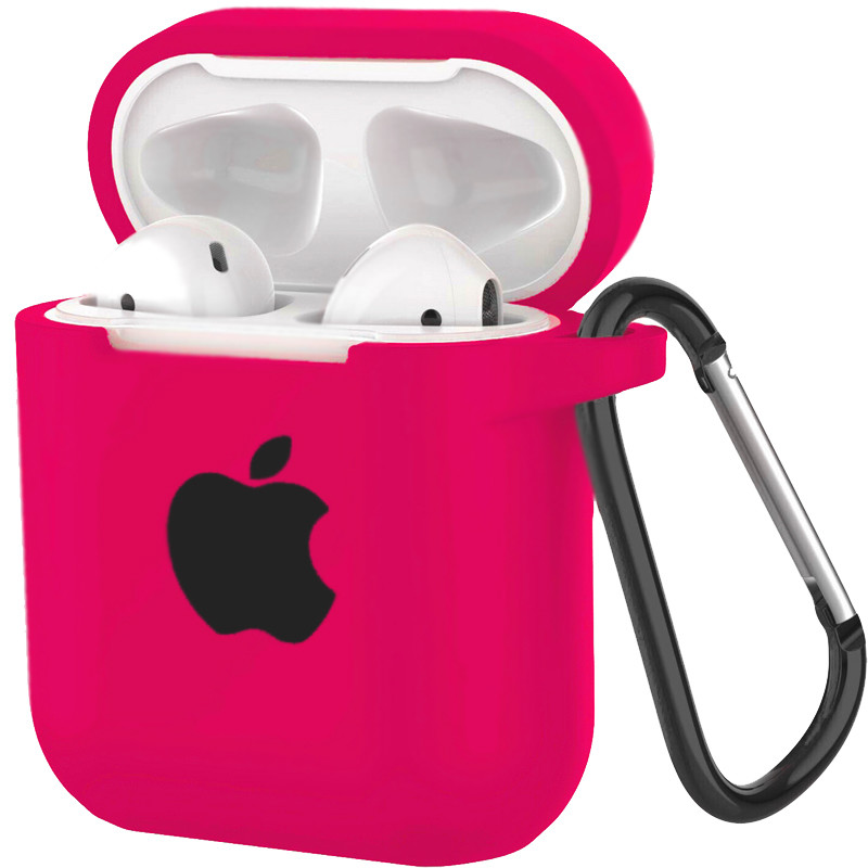 Silicone Case for AirPods Hot Pink (47) - 1