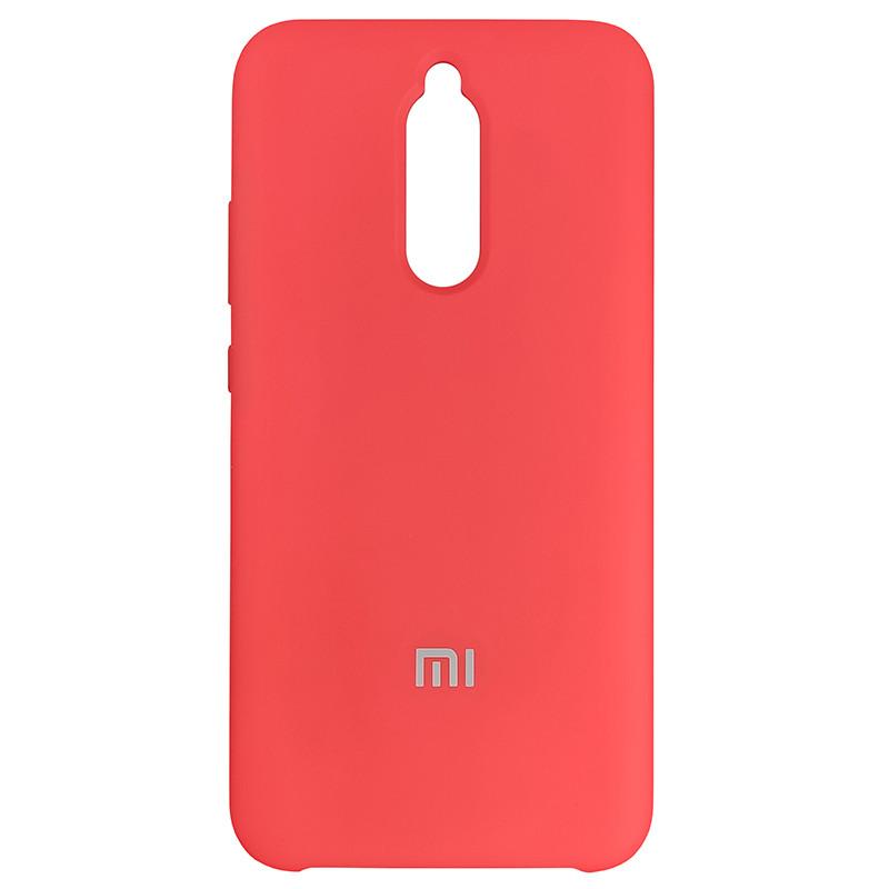 Чохол Silicone Case for Xiaomi Redmi 8 Red (14) - 1
