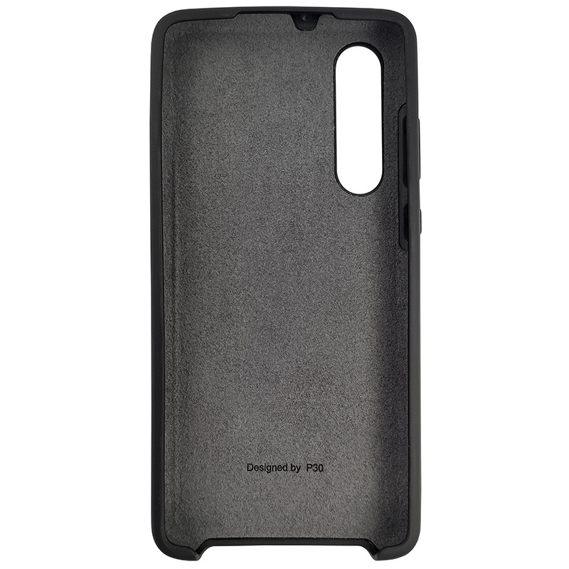 Чохол Silicone Case for Huawei P30 Black (18) - 3