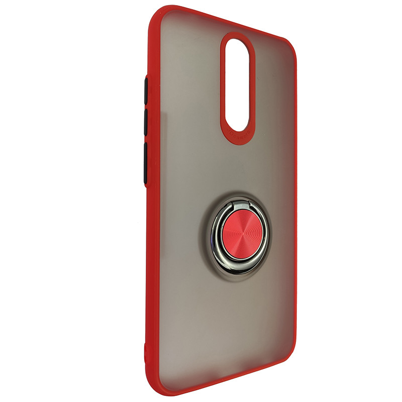 Чохол Totu Copy Ring Case Xiaomi Redmi 8/8A Red+Black - 1