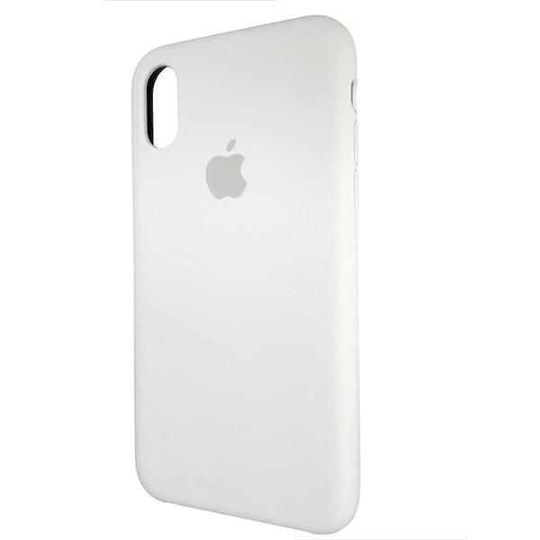 Чехол Copy Silicone Case iPhone X/XS White (9) - 2