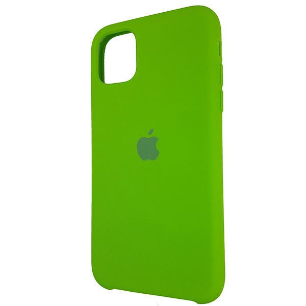Чохол Copy Silicone Case iPhone 11 Pro Green (31) - 2