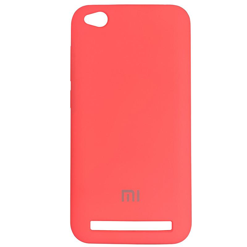 Silicone Case for Xiaomi Redmi 5A Peach Bl.Pink (29) - 1