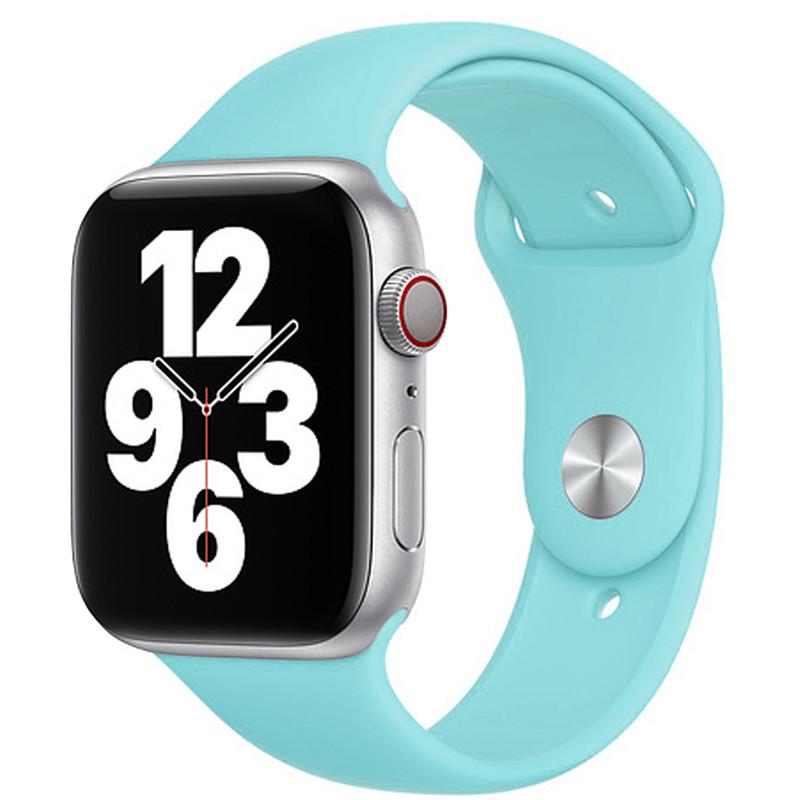 Ремінець для Apple Watch (38-40mm) Sport Band Ocean Blue (21)  - 2