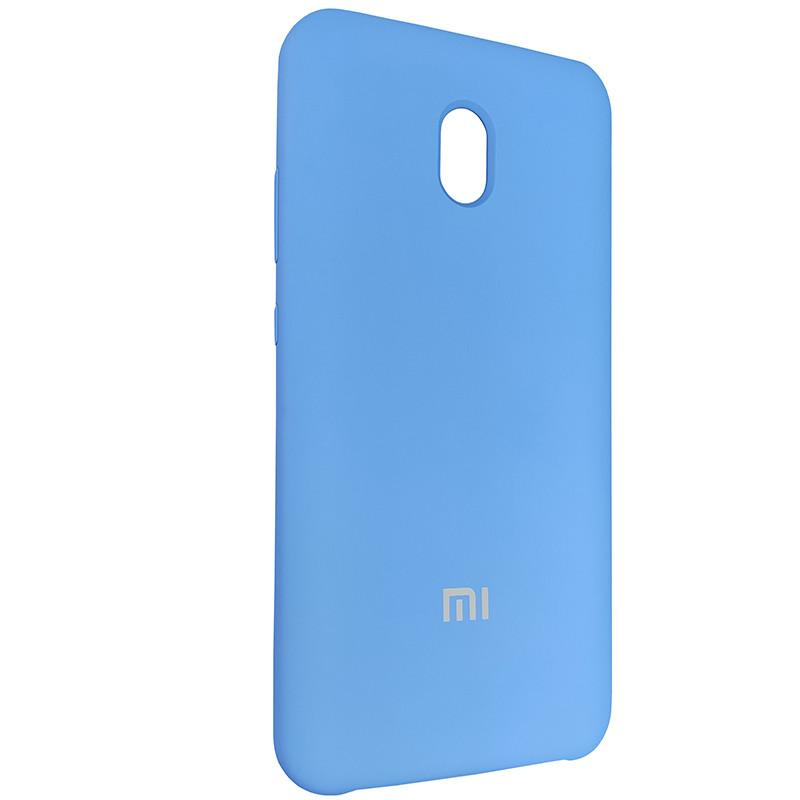 Чехол Silicone Case for Xiaomi Redmi 8A Blue (3) - 2