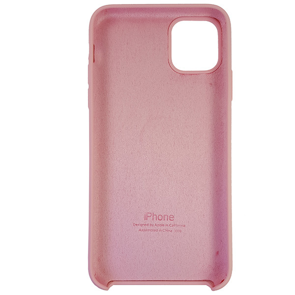 Чохол Copy Silicone Case iPhone 11 Pro Max Light Pink (6) - 4