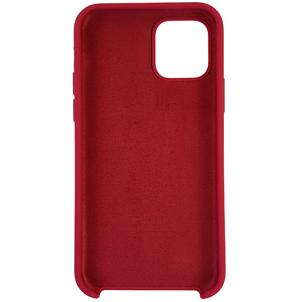 Чохол Copy Silicone Case iPhone 11 Pro Rose Red (36) - 4