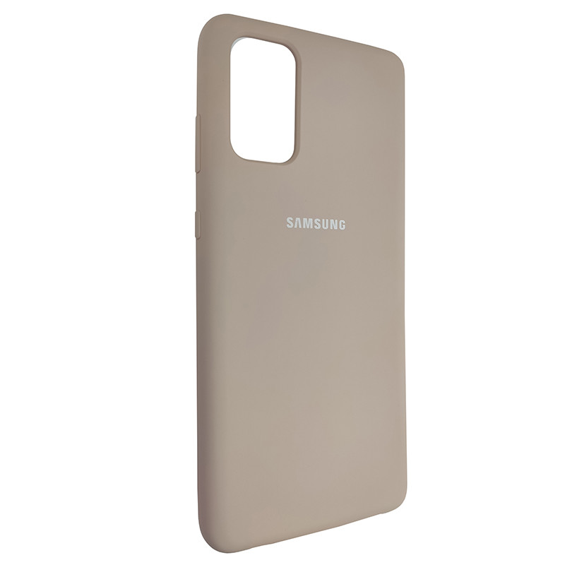 Чохол Silicone Case for Samsung S20 Plus Sand Pink (19) - 2