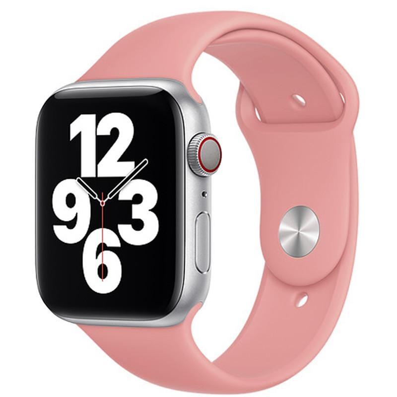 Ремінець для Apple Watch (42-44mm) Sport Band Pink (12)  - 2