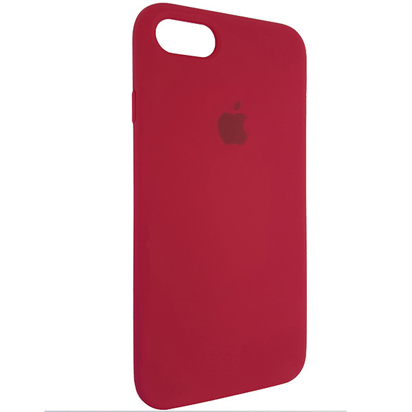 Чохол Copy Silicone Case iPhone 7/8 Rose Red (36) - 1