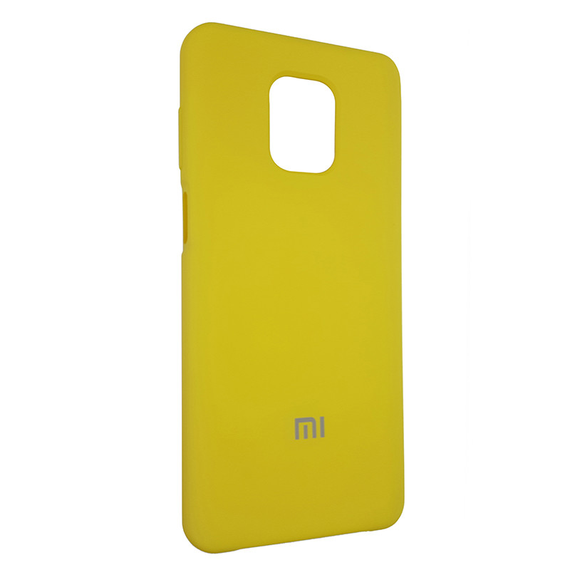 Чохол Silicone Case for Xiaomi Redmi Note 9S/9 Pro Yellow (4) - 2