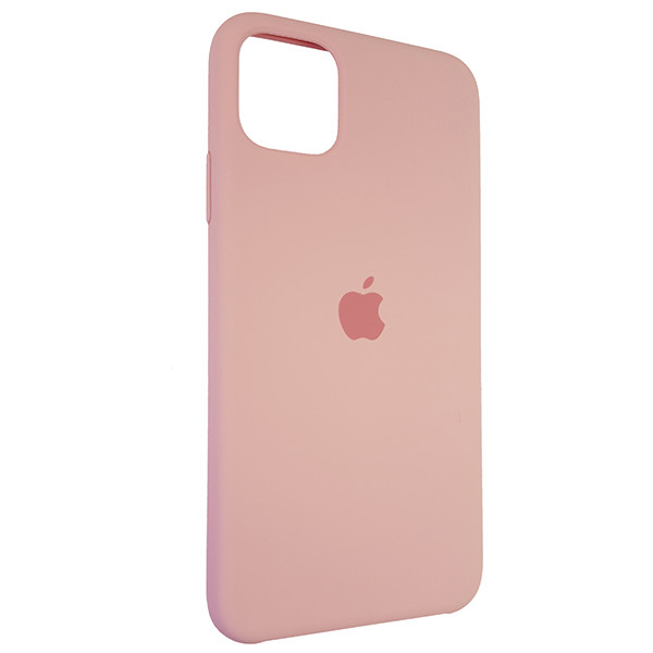 Чохол Copy Silicone Case iPhone 11 Pro Max Light Pink (6) - 1