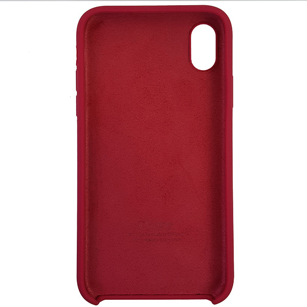 Чохол Copy Silicone Case iPhone XR Rose Red (36) - 4