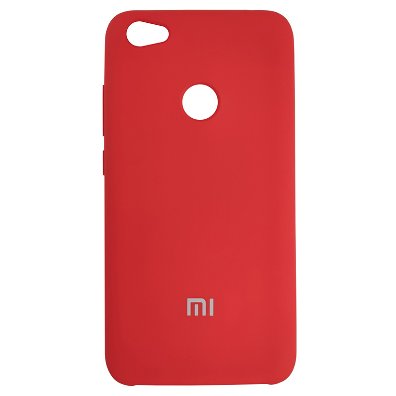Чохол Silicone Case for Xiaomi Redmi Note 5A Red (14) - 1