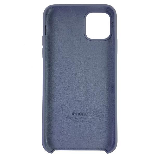 Чохол Copy Silicone Case iPhone 11 Pro Max Gray (46) - 4