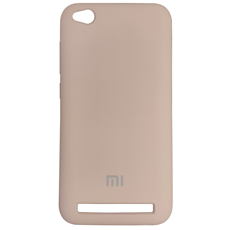 Чохол Silicone Case for Xiaomi Redmi 5A Sand Pink (19) - 1