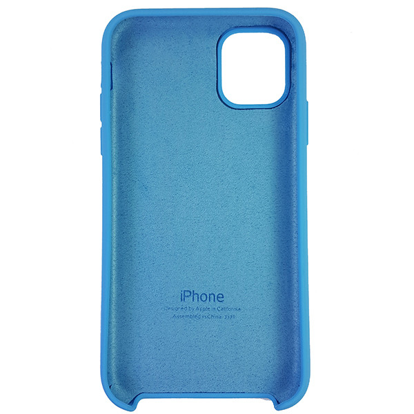 Чохол Copy Silicone Case iPhone 11 Sky Blue (16) - 4