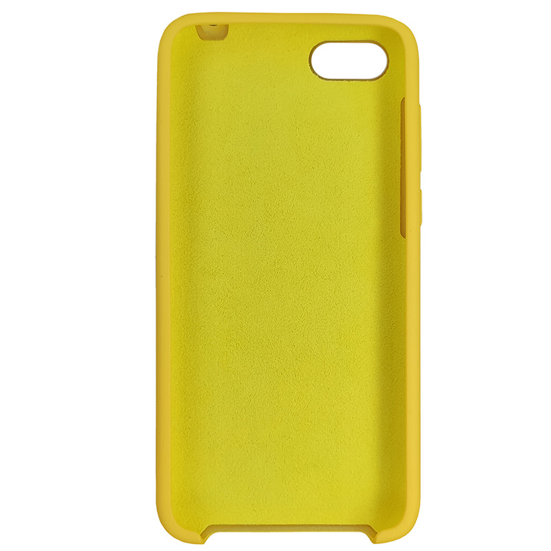 Чохол Silicone Case for Huawei Y5 Prime2018 Yellow (4) - 3