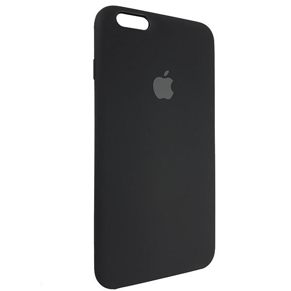 Чохол Copy Silicone Case iPhone 6 Plus Black (18) - 1