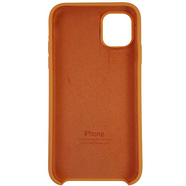 Чохол Copy Silicone Case iPhone 11 Papaya (56) - 4