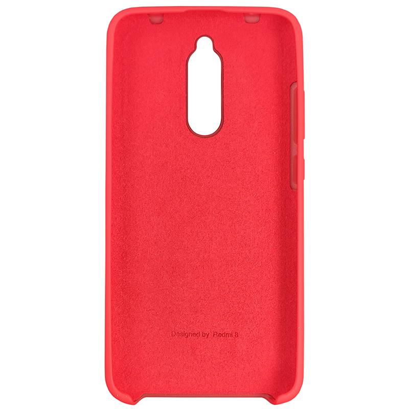 Чохол Silicone Case for Xiaomi Redmi 8 Red (14) - 3