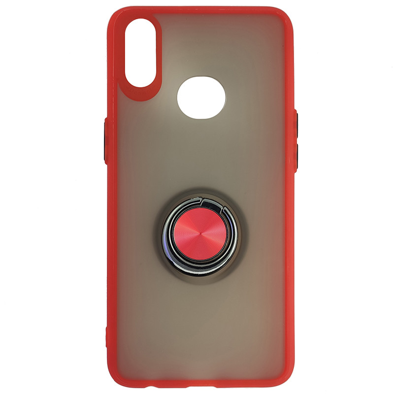 Чохол Totu Copy Ring Case Samsung A10S Red+Black - 4