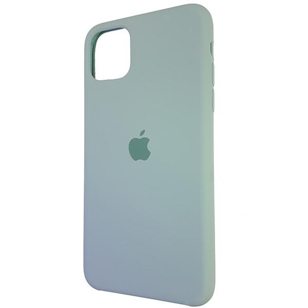 Чохол Copy Silicone Case iPhone 11 Pro Max Mist Green (17) - 2