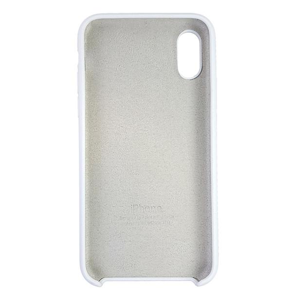 Чехол Copy Silicone Case iPhone X/XS White (9) - 4