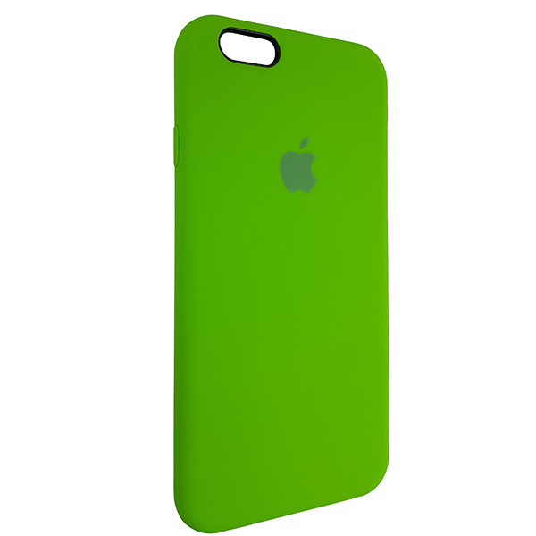 Чохол Copy Silicone Case iPhone 6 Green (31) - 1