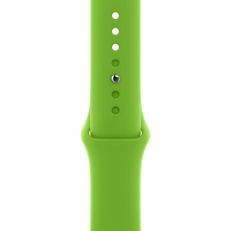 Ремінець для Apple Watch (38-40mm) Sport Band Green (31)  - 1