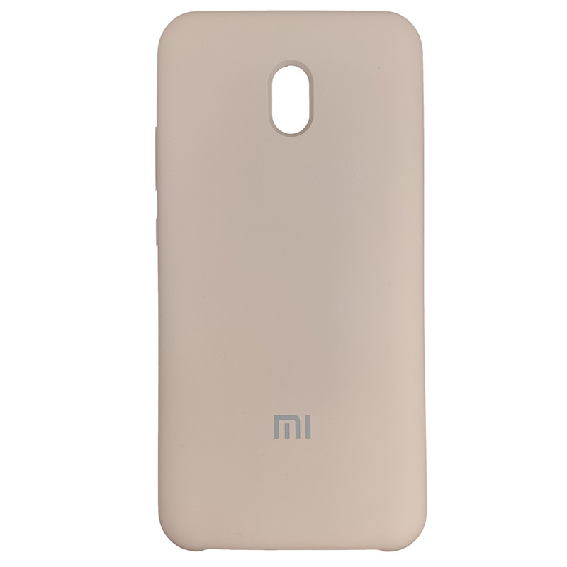 Чохол Silicone Case for Xiaomi Redmi 8A Sand Pink (19) - 1