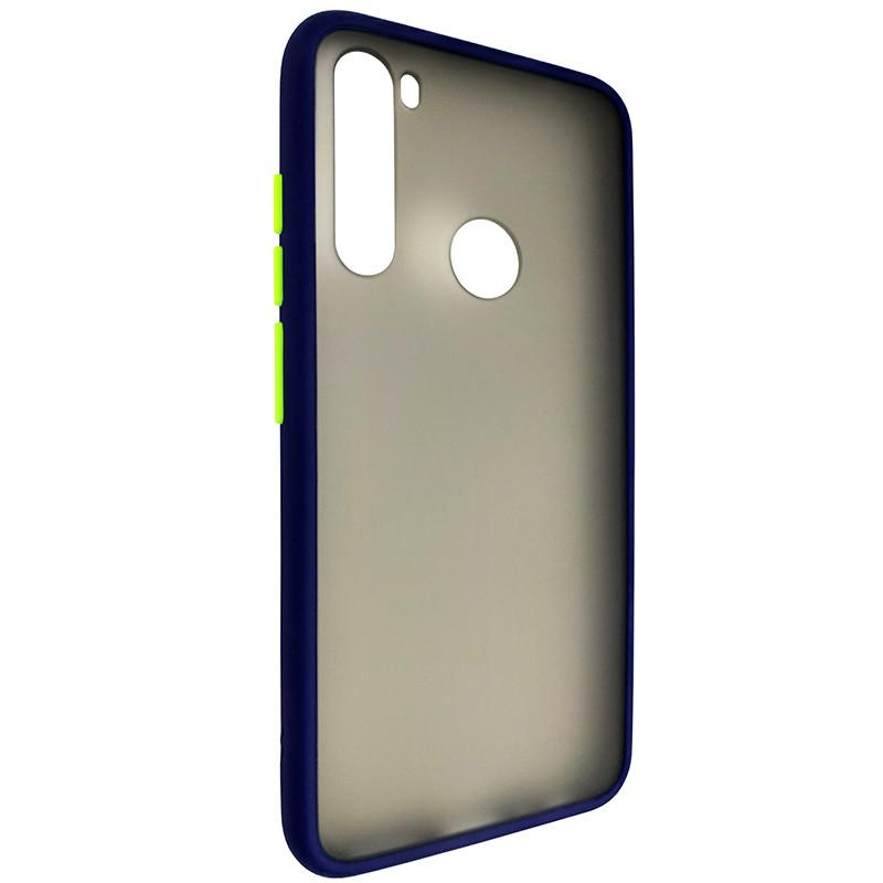 Чохол Totu Copy Gingle Series for Samsung A50S Blue+Light Green - 1