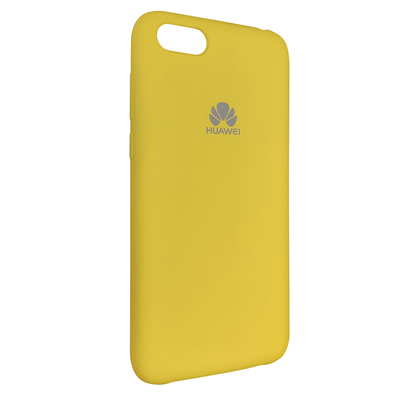 Чохол Silicone Case for Huawei Y5 Prime2018 Yellow (4) - 2