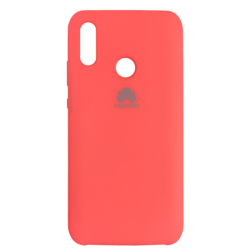 Чохол Silicone Case for Huawei P Smart 2019 Pech Bl.Pink (29) - 1