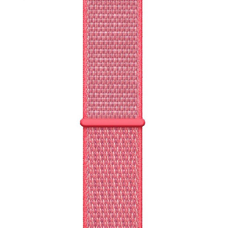 Ремінець для Apple Watch (38-40mm) Sport Loop Pink - 1