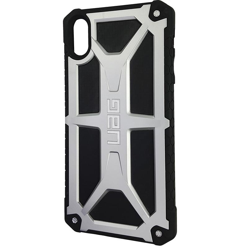 Чохол UAG Monarch iPhone XS Max Silver (HC) - 1