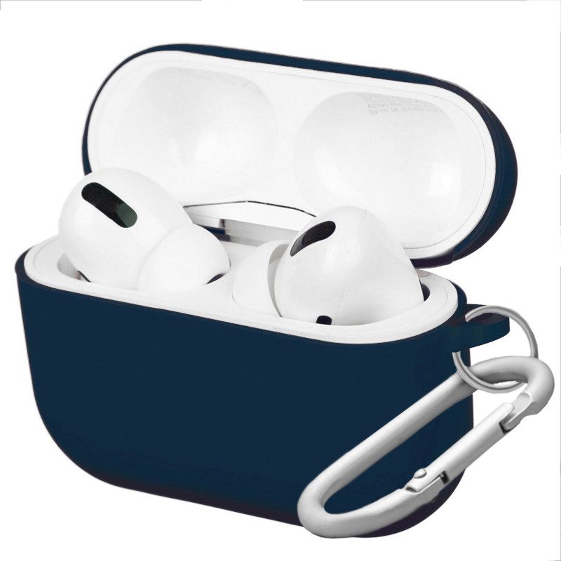 Silicone Case for AirPods Pro Midnight (8) - 1