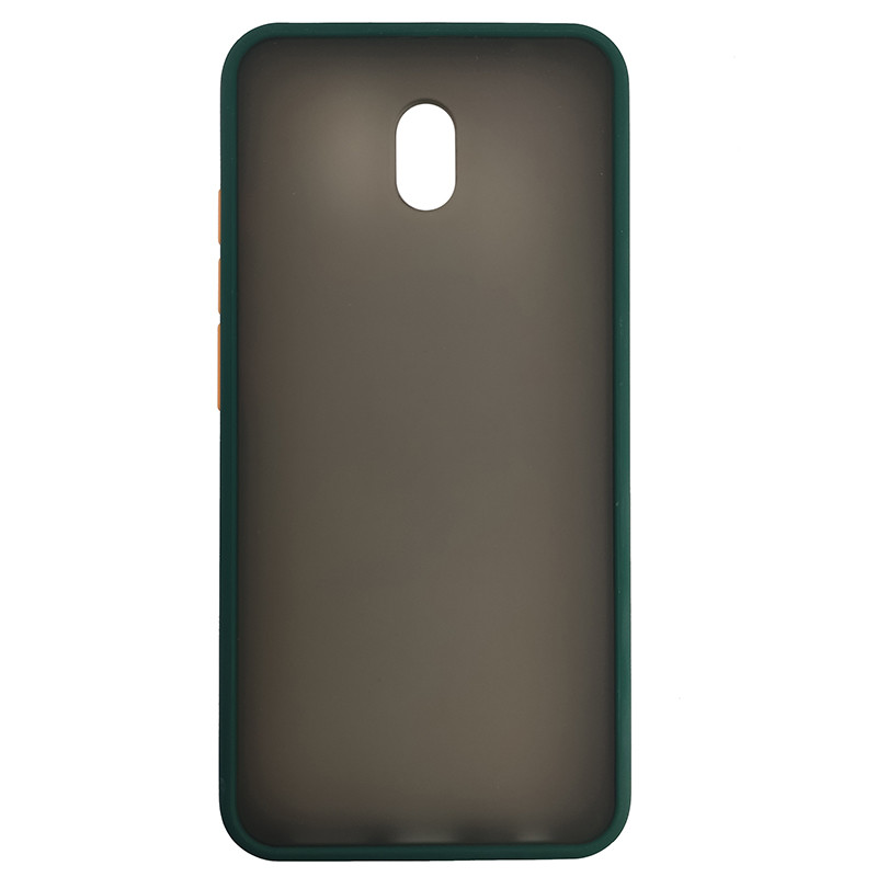 Чохол Totu Copy Gingle Series for Xiaomi 8A Dark Green+Orange - 2