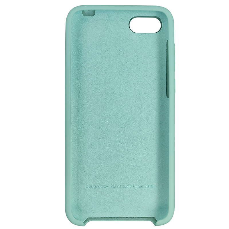 Чохол Silicone Case for Huawei Y5 Prime2018 Ice Sea Blue (21) - 3