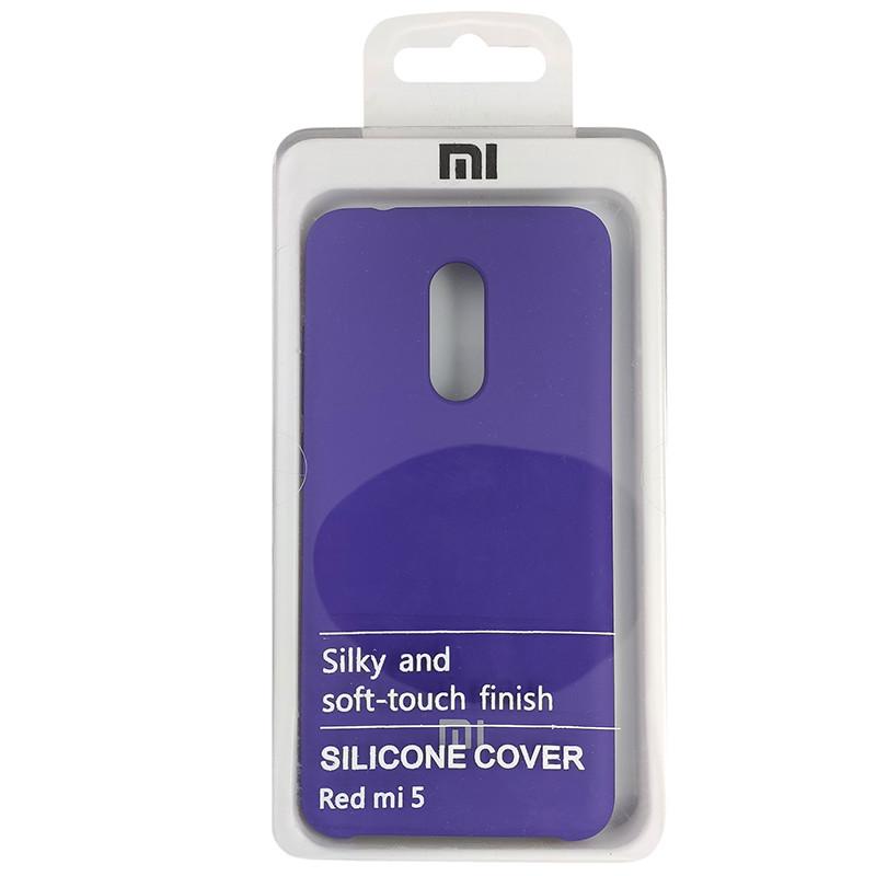 Чохол Silicone Case for Xiaomi Redmi 5 Violet (36) - 4